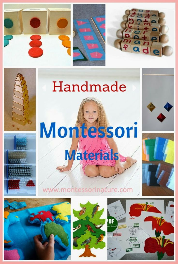 Montessori Nature: Handmade Montessori Materials and DIY Inspiration