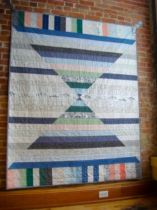 17 Best images about QUILTS: Bear Paw, Churn Dash, Hole in the Barn Door, Monkey Wrench, Shoo ...