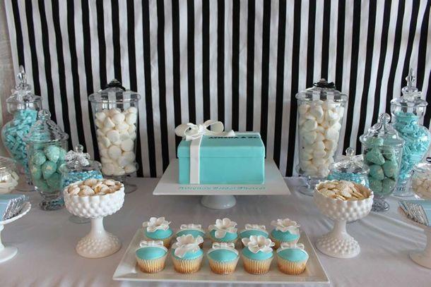 festa azul tiffany, decoração azul tiffany, tiffany's party, decoração casamento, breakfast at tiffanys, bonequinha de luxo: