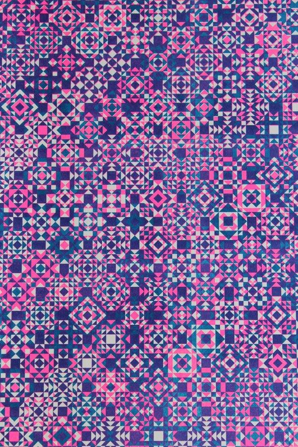 Patterned Risograph Prints on the Behance Network