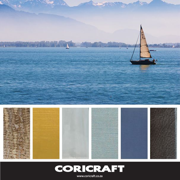So you know blue is a trend? This is how to do it with Coricraft textures and colours.
