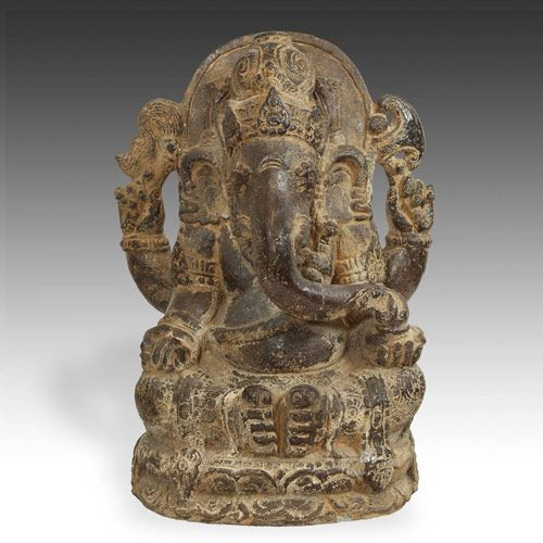 Image from http://www.beprimitive.com/img/new_arrivals/2015/riverstone-sculpture-of-ganesh-and-barong-01-large.jpg.