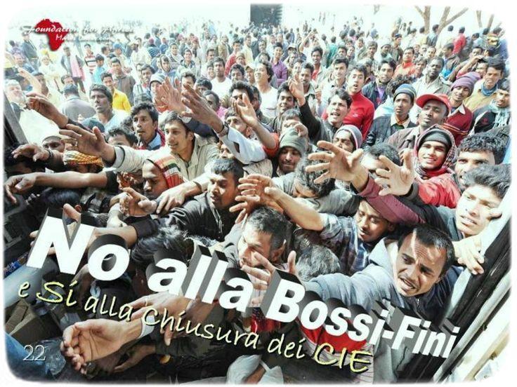 No alla Bossi-Fini