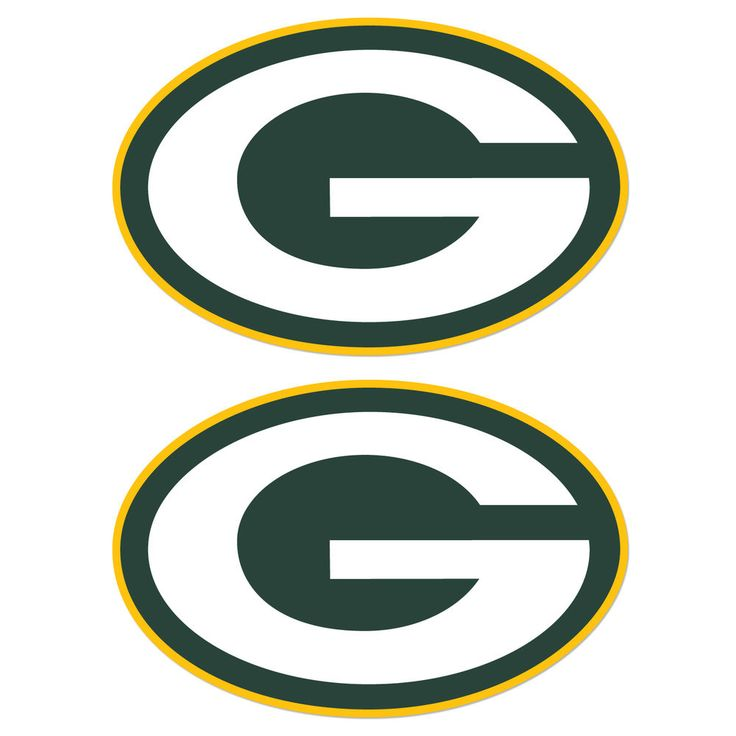 """Set of 2 Green Bay Packers Cornhole Board Decals """"17x11"""" Stickers BEAN BAG TOSS #GreenBayPackers"""
