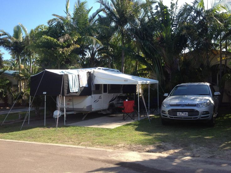 Camping on the NSW's coast