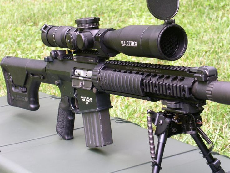The SR-25 (Stoner Rifle-25) is a semi-automatic sniper rifle.