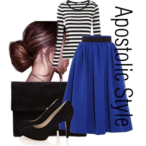 Apostolic Style....I like this look but I can't pull it off because of the heels!  To tall for heels!