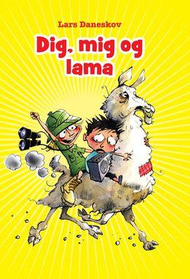 DIG, MIG OG LAMA er tredje historie om Anton, Mor, Molly, Pappa og alle de andre hjemme fra Ostehuset, der ligger lige ved siden af Pappas Pizza og skråt over for Torbens Dametøj.