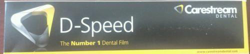 #Dental #Kodak Intraoral D-Speed 100 X-ray Films Carestream DF-58 Adult Size 2