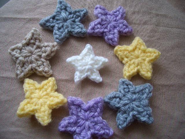 1段で★Petit★星のモチーフの作り方|編み物|編み物・手芸・ソーイング|ハンドメイドカテゴリ|アトリエ