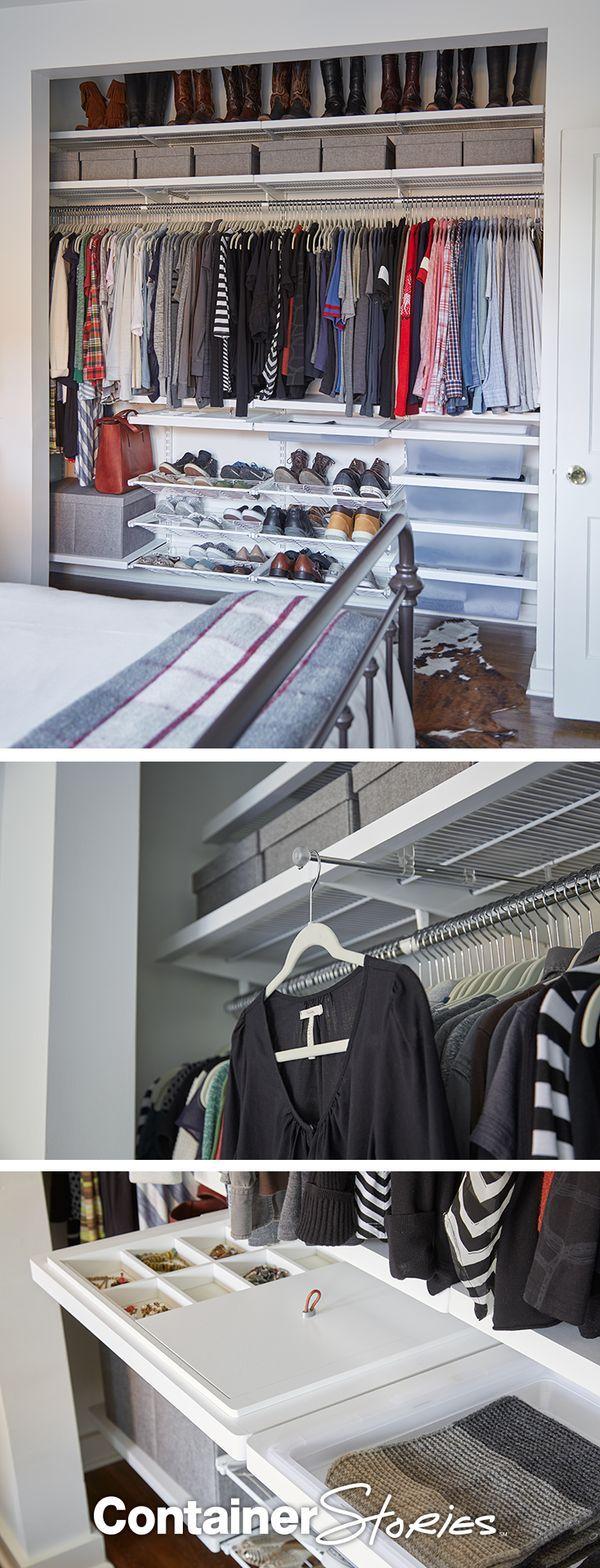 I can help design an elfa closet if you need one - Organizer365
