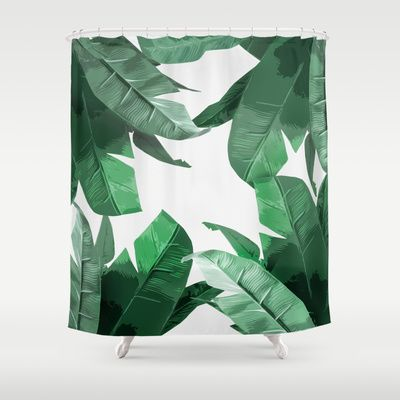 Nature Inspired Shower Curtains