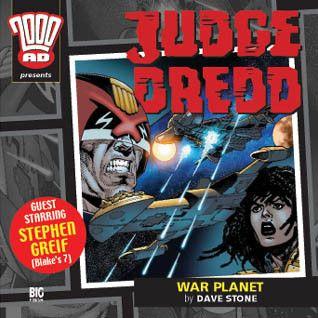 12. Judge Dredd: War Planet