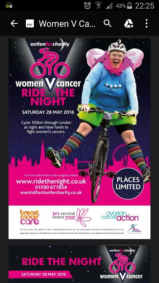 May 2016 charity ride with daughter Alice