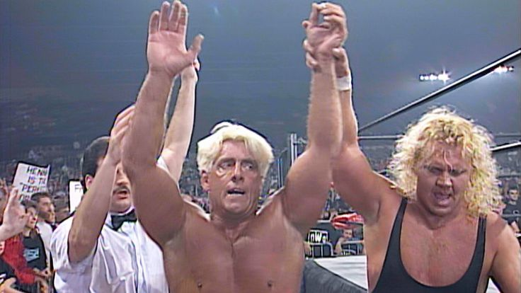 On this day in 1997 … Watch Ric Flair & Curt Hennig battle Buff Bagwell…