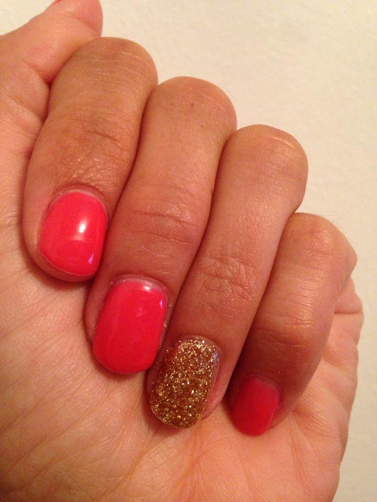 Striplac Hurly Burly + Gold glitter