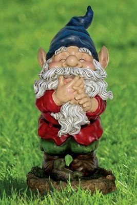 Laughing Gnome Statuary - Click to enlarge