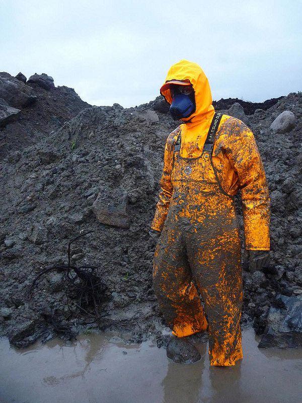 Muddy in bright Aalesund