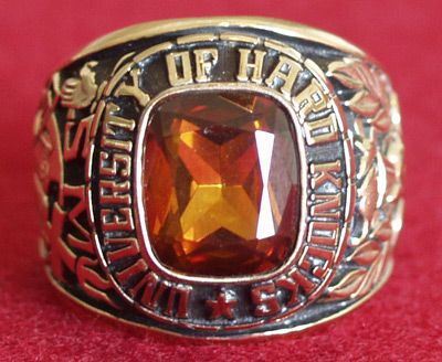 The University of Hard Knocks Ring | Hard Knocks ...