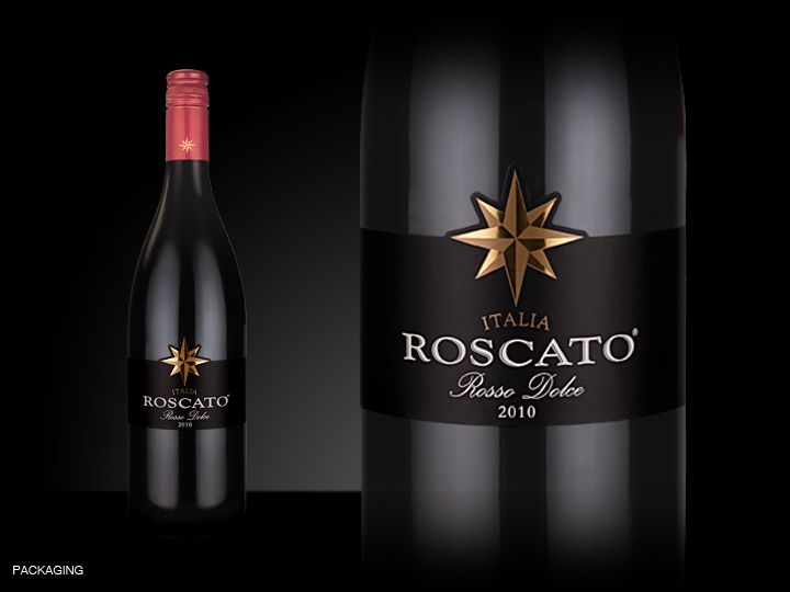 Roscato Rosso Dolce, a sweet and fruity red wine. I don't usually enjoy wine but this is like drinking juice, amazing if not a little dangerous. A must try !