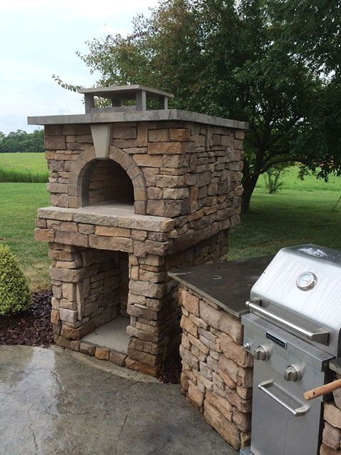 woodfired outdoor brick pizza oven the boswell family