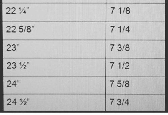 Size Chart For SummersCaps Welding Caps Kromer Custom Welding