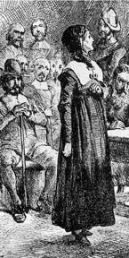 How a Puritan Woman's Fight for Freedom Led to the KJV's Prominence in America, Part 1 -The author of this website takes the stance that Anne Hutchinson and her passion for theology assisted in the fate of the King James Version of the Bible. This is part one of two, the second portion can be found on this board under Puritan religion.