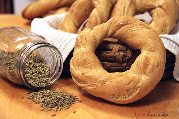 Ciambelle with Fennel Recipe www.anitaliancanadianlife.ca