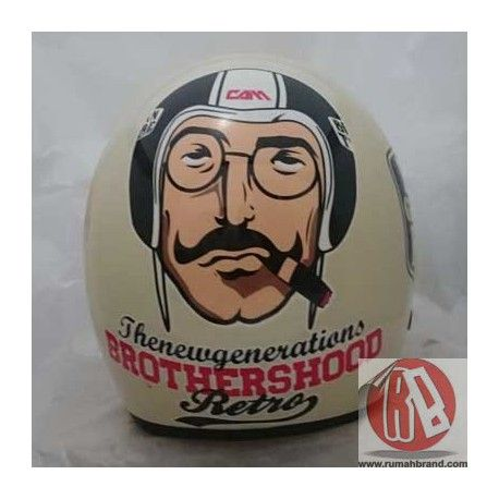 Brother (HC-25) @Rp. 220.000,-    http://rumahbrand.com/helm-kustom/882-brother.html