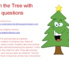 Free! Trim the tree with wh-questions! Students will work on WH questions while decorating their Christmas trees. Each Christmas bulb contains a WH question....