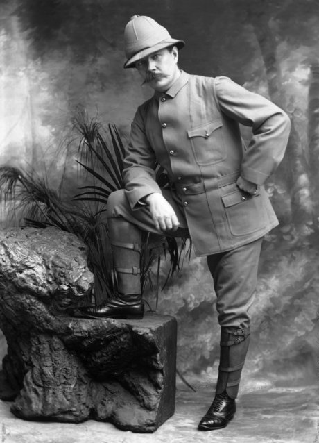 Arthur Conan Doyle (april 1900, Boer war)