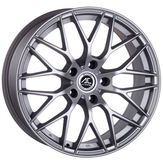 17 AC SAPHIRE MATT SILVER alloy wheels for 5 studs wheel fitment in 7.5x17 rim size