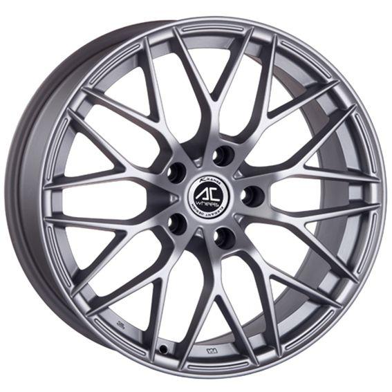 17 AC SAPHIRE MATT SILVER alloy wheels for 5 studs wheel fitment in 7.5x17 rim size
