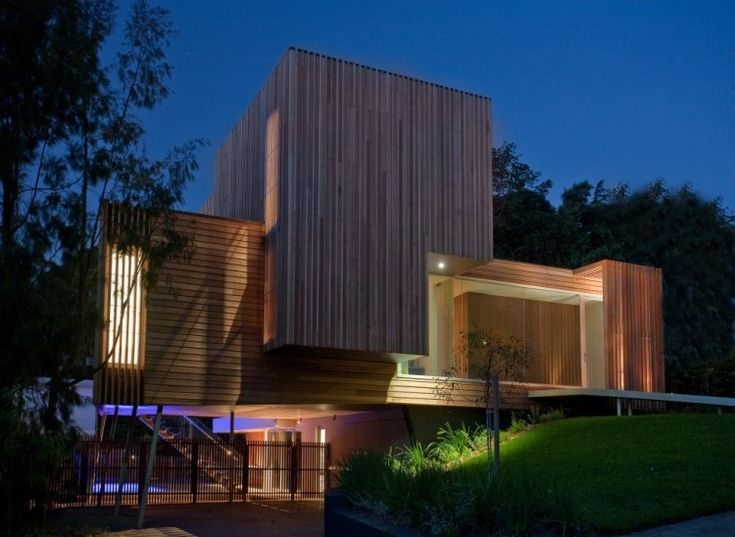 The kew house 3 by vibe design group casas modernas for Casa minimalista definicion