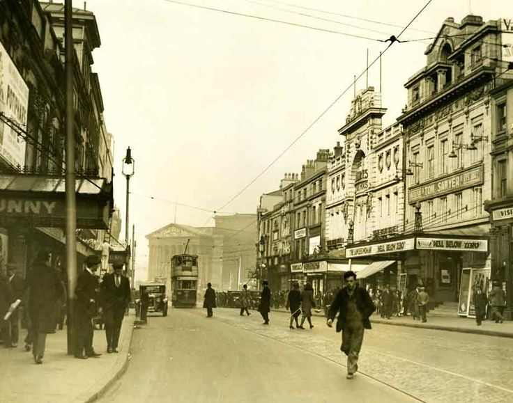 Lime Street Liverpool, 1931.