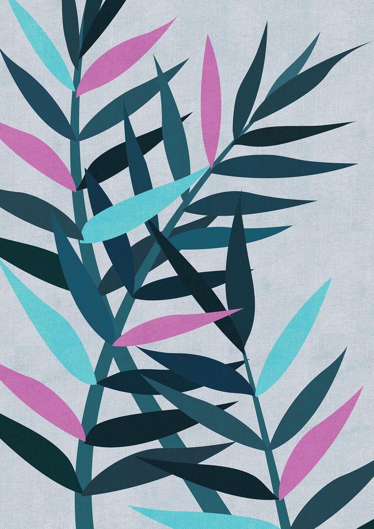 Foliage Illustration Art Print by Paula Kuka | Common Wild