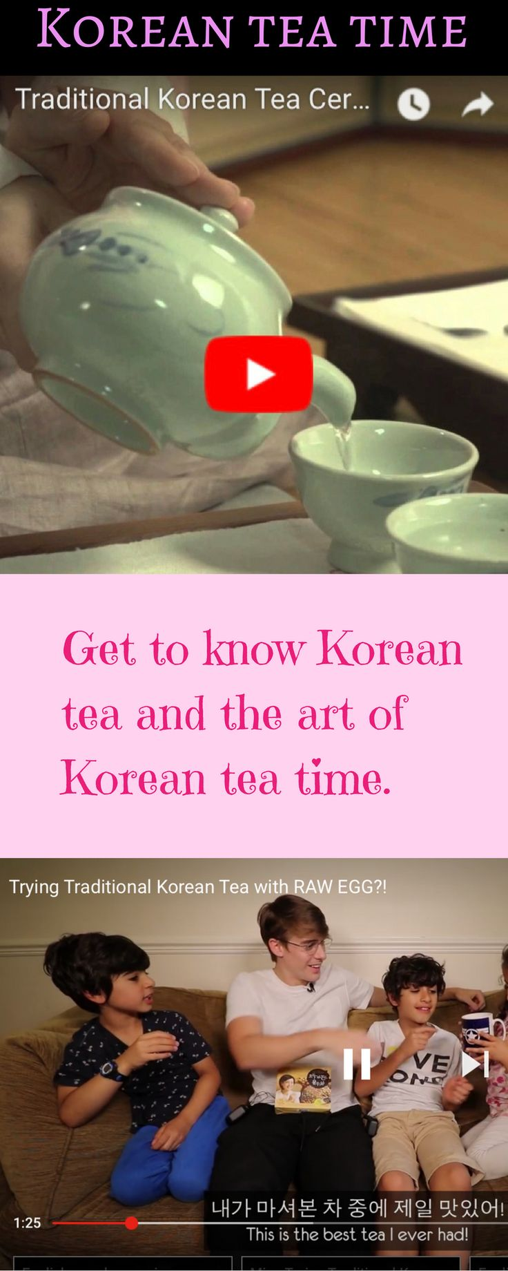 Korea is a huge tea drinking country. There are so many varieties of Korean tea. The choices are infinite. I can't go over every single one of them, but here is a list of some of my favs #ontheblog
