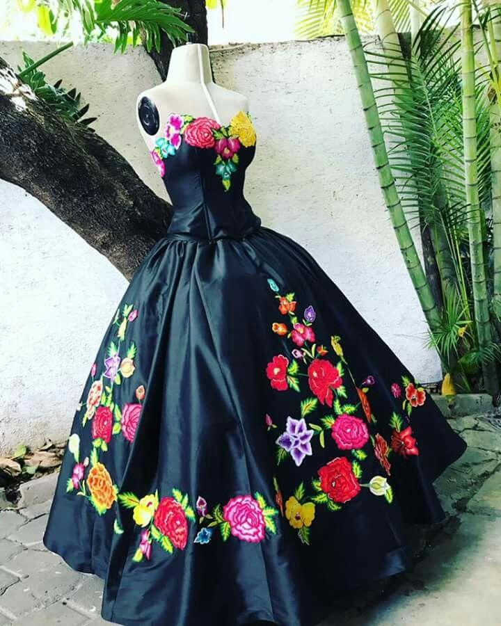 Vestidos Xv En 2019 Vestidos Elegantes Mexicanos Vestidos