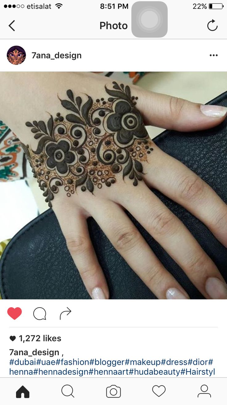 Images about mehndi design on pinterest mehndi - Bold Flowers And Filling Space With With Tiny Dots Finger Henna