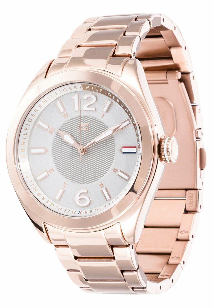 Tommy Hilfiger rosegold oversized watch