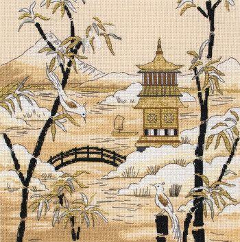 Japan and Japanese - Cross Stitch Patterns & Kits - 123Stitch.com