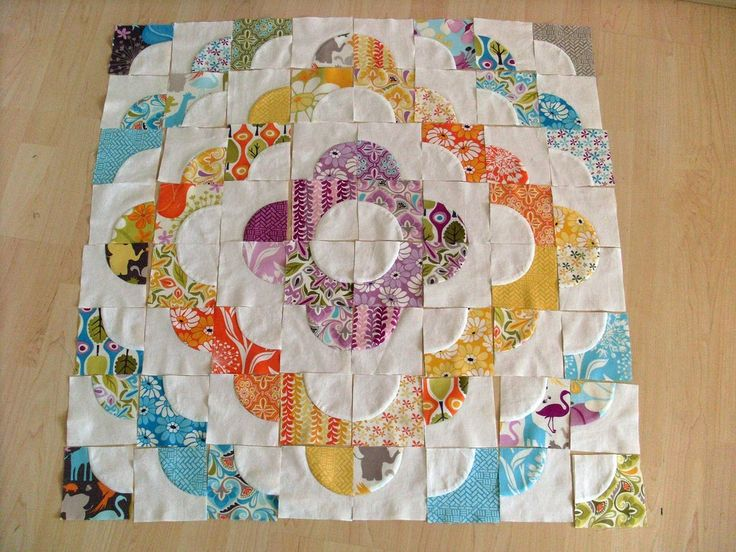 Accuquilt Drunkard's Path Tutorial  I love this pattern!                                                                                                                                                                                 More