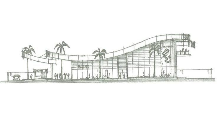Estudo de viabilidade arquitetônico de empreendimento comercial, em Aracaju/SE - Immobile Arquitetura
