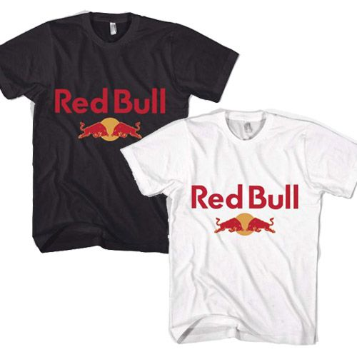 red bull energy drink racing logo clothing black and white t shirt places to. Black Bedroom Furniture Sets. Home Design Ideas