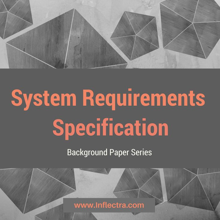 A System #Requirements Specification is a document or set of #documentation that describes the features and behavior of a system or #software #application. It includes a variety of elements that attempts to define the intended #functionality required by the customer to meet their #software #testing needs.