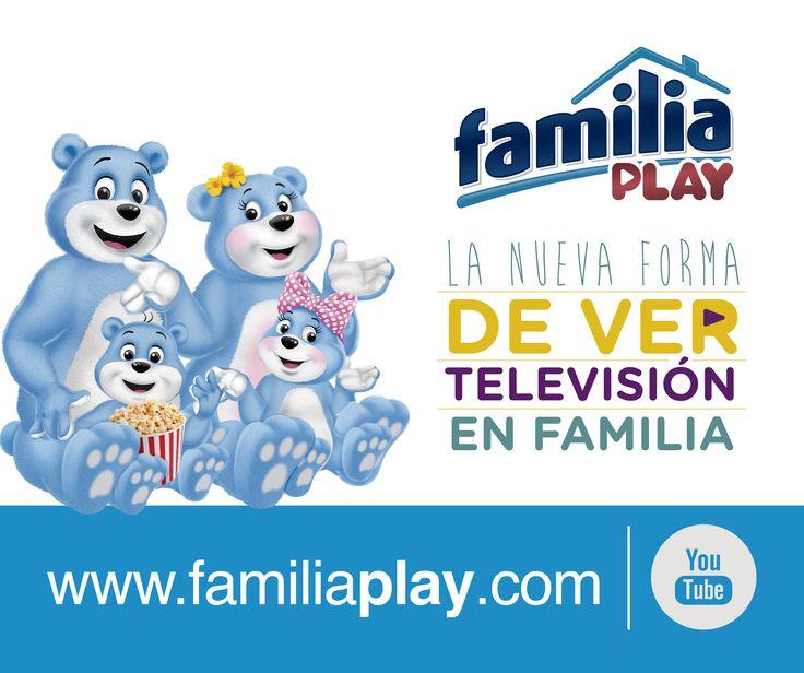 ¡Descubre los programas, series y películas que te gustan ingresando a www.familiaplay.com desde tu computador, smartphone, tableta o Smart TV. ¡Es gratis!