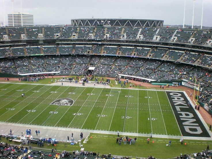 Oakland–Alameda County Coliseum, Oakland Raiders