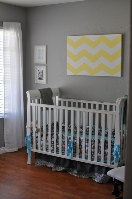 1000 Images About Gray Yellow And White Chevron Nursery