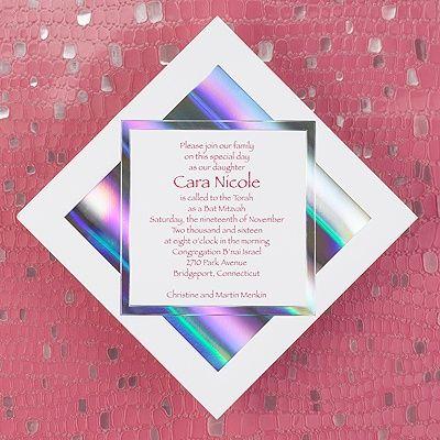 Mirror Square - Invitation
