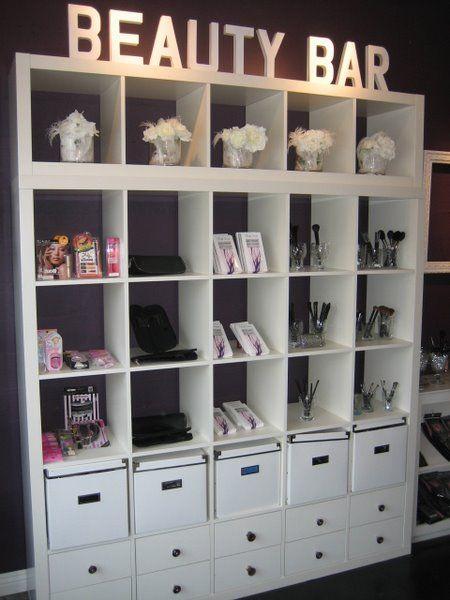 Beauty bar! So creative! www.marykay.co.uk/rebeccagreen